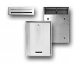Skrzynka na listy przelotowa , montowana w panelu lub drzwiach
